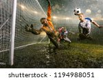 soccer players performs an... | Shutterstock . vector #1194988051