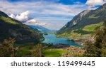 lake valley   Shutterstock . vector #119499445
