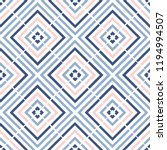 geometry zig zag vector pattern.... | Shutterstock .eps vector #1194994507