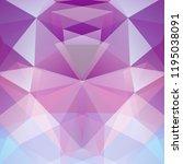 polygonal vector background.... | Shutterstock .eps vector #1195038091