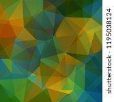 geometric pattern  polygon... | Shutterstock .eps vector #1195038124