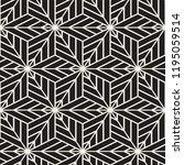 vector seamless lines mosaic... | Shutterstock .eps vector #1195059514