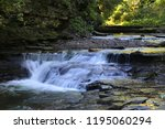 View Of Water Falls Along The...