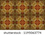 colorful ethnic patterned...   Shutterstock . vector #1195063774