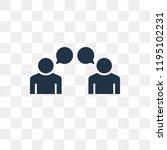 testimonials vector icon... | Shutterstock .eps vector #1195102231