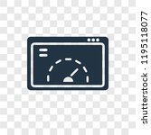 velocity test vector icon...