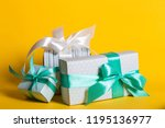 preparation for the holiday   a ... | Shutterstock . vector #1195136977