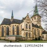 st. felizitas catholic church... | Shutterstock . vector #1195154254
