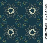cool branches elegant seamless... | Shutterstock .eps vector #1195154821