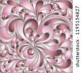 silk texture fluid shapes ... | Shutterstock .eps vector #1195154827