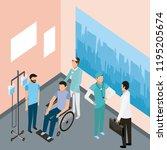 medical people health | Shutterstock .eps vector #1195205674