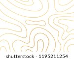 modern abstract topography gold ... | Shutterstock .eps vector #1195211254