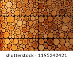 timber tree wall decoration... | Shutterstock . vector #1195242421
