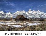 Barn In Grand Teton National...