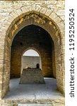 ateshgah fire temple. temple...   Shutterstock . vector #1195250524