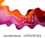 abstract colorful vector... | Shutterstock .eps vector #1195292761