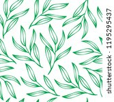 vector seamless pattern with... | Shutterstock .eps vector #1195295437