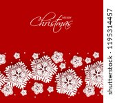 merry christmas party... | Shutterstock .eps vector #1195314457