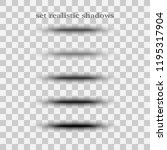 pages separation vector set....   Shutterstock .eps vector #1195317904