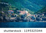 scenic view of colorful village ... | Shutterstock . vector #1195325344
