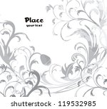 flower background ready to... | Shutterstock .eps vector #119532985