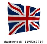 waving flag of the great... | Shutterstock . vector #1195363714