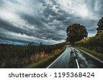 landscape picture of  beautiful ... | Shutterstock . vector #1195368424