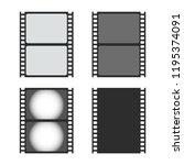 photo film icon. camera roll ...   Shutterstock .eps vector #1195374091