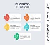 infographic presentation concept