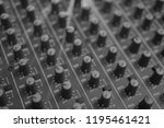 mixers mixing console audio...   Shutterstock . vector #1195461421