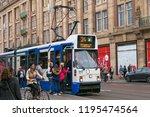amsterdam  netherlands   june... | Shutterstock . vector #1195474564