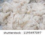 Small photo of Close up of Australian Merino Wool Warm Craft Fibre/Fabric Industry Concept