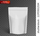 white blank foil food... | Shutterstock .eps vector #1195501534