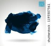 blue brush stroke and texture.... | Shutterstock .eps vector #1195507561