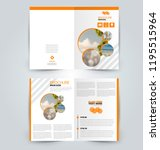 abstract flyer design... | Shutterstock .eps vector #1195515964