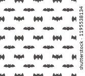 seamless pattern with bats.... | Shutterstock . vector #1195538134