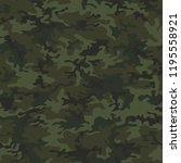 camouflage texture seamless... | Shutterstock .eps vector #1195558921