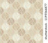 polka dot seamless pattern.... | Shutterstock .eps vector #1195566877