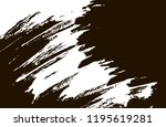 black and white abstract grunge ... | Shutterstock .eps vector #1195619281