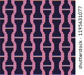 new seamless pattern with sport ... | Shutterstock . vector #1195631077