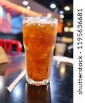 lemon iced tea on the table | Shutterstock . vector #1195636681