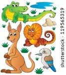 Australian Wildlife Fauna Set ...