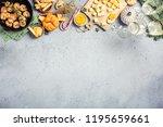 christmas dinner background... | Shutterstock . vector #1195659661