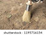 Archeology Female Hand Holds...