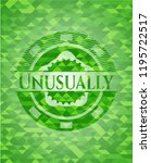 unusually green emblem with... | Shutterstock .eps vector #1195722517
