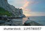 Seagull At Sunset At Morro Rock ...