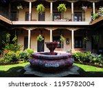 antigua guatemala  guatemala ... | Shutterstock . vector #1195782004
