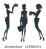 vector collection of business... | Shutterstock .eps vector #119581411