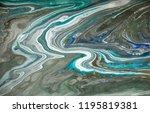 gold marbling texture design.... | Shutterstock . vector #1195819381