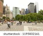 new york  usa   may 28  2018 ... | Shutterstock . vector #1195832161